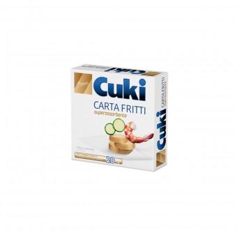 CUKI CARTA FRITTI SUPERASSORBENTE - 20 FOGLI - CM 32X33