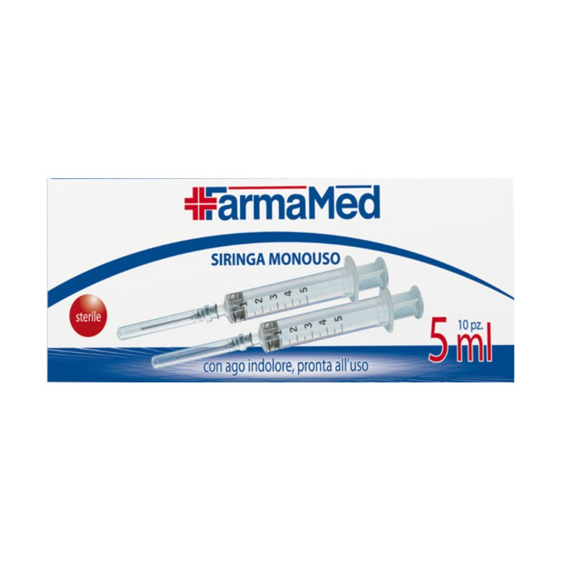 FARMAMED SIRINGA MONOUSO 5 ML 10 PEZZI