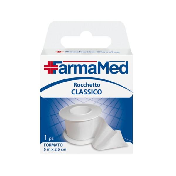 FARMAMED ROCCHETTO CLASSICO MT.5x2,5 CM., MEDICAZIONE & PRONTO SOCCORSO, S023326, 80334