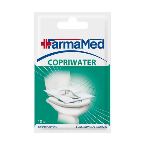 FARMAMED COPRIWATER 10 PZ 152 WC , MEDICAZIONE & PRONTO SOCCORSO, S023315, 80341