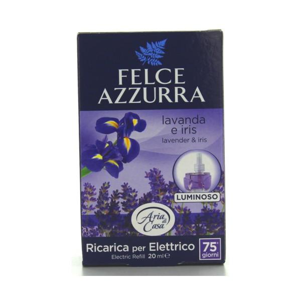 FELCE AZZURRA ARIA DI CASA ELETTRICO RICARICA LAVANDA & IRIS 20 ML, DEODORANTI AZIONE CONTINUA, S044301, 80427
