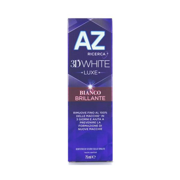 AZ 3D WHITE LUX BIANCO BRILLANTE 75 ML   , DENTIFRICI, S129749, 80475