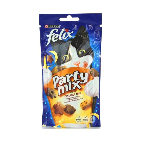 FELIX GATTI PARTY MIX ORIGINAL MIX BUSTA 60 GRAMMI, NUTRIZIONE, S121741, 80513