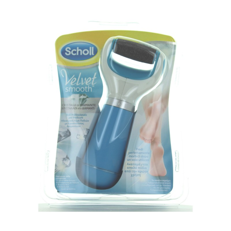 SCHOLL VELVET SMOOTH ROLL PROFESSIONALE PER PEDICURE