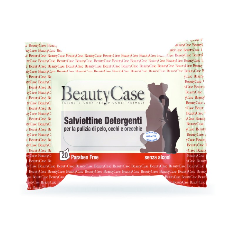 BEAUTYCASE SALVIETTINE PER ANIMALI TRAVEL 20 PZ. 16x20 cm