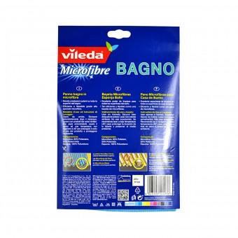 VILEDA PANNO MICROFIBRA BAGNO 2in1