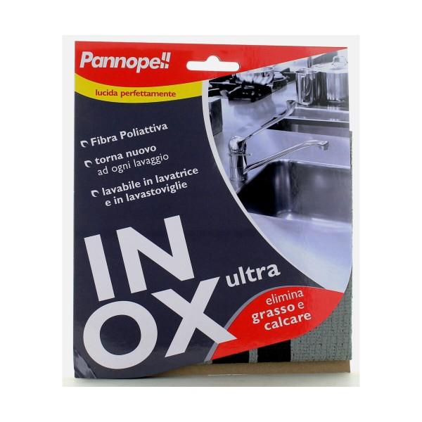 EUDOREX PANNO INOX FIBRA POLIATTIVA 30x32, PANNI VETRO / MULTIUSO, S108462, 81046