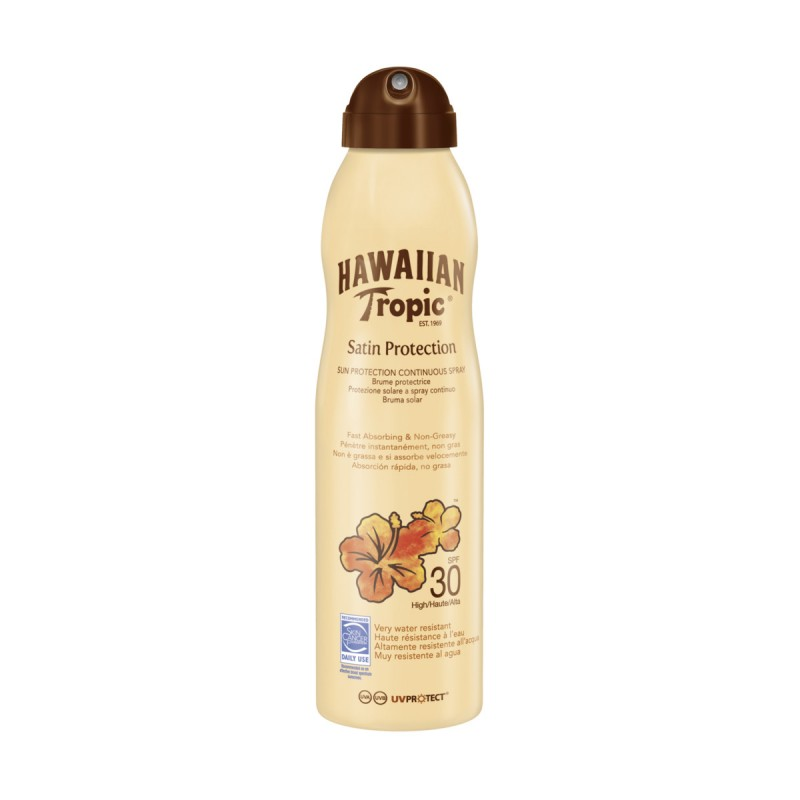 HAWAIIAN TROPIC SATIN PROTECTION SPRAY SPF30 220 ML