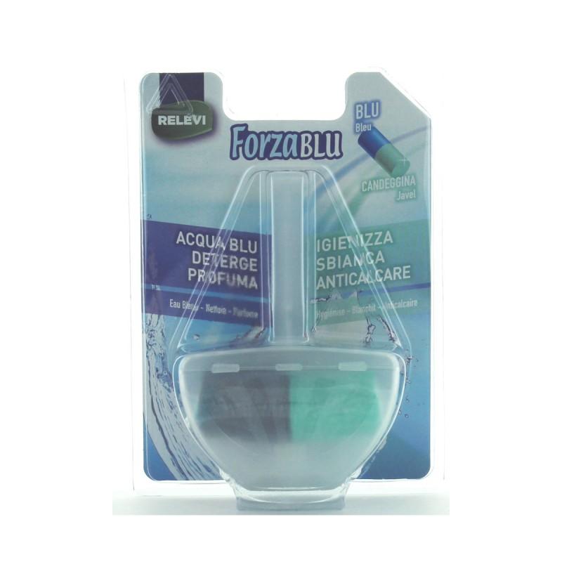 FORZA BLU WC + CANDEGGINA TAVOLETTA SOLIDA 40 grammi 1 PZ. RELEVI