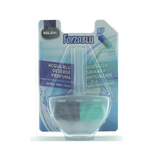 FORZA BLU WC + CANDEGGINA TAVOLETTA SOLIDA 40 grammi 1 PZ. RELEVI, CURA WC, S098071, 81176