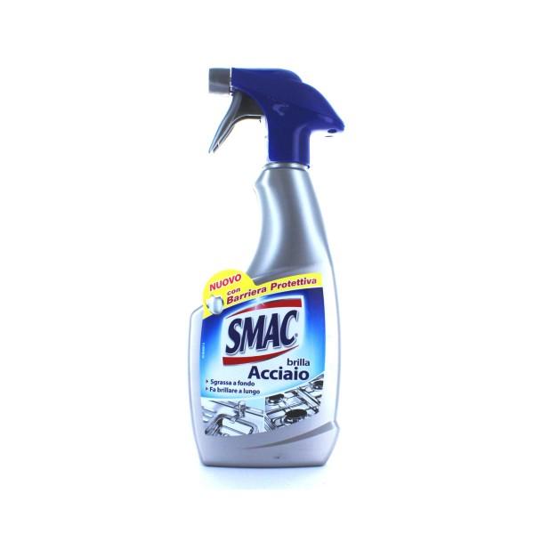 SMAC BRILLACCIAIO SPRAY  500 ML.       , PULITORI METALLI, S032456, 81490