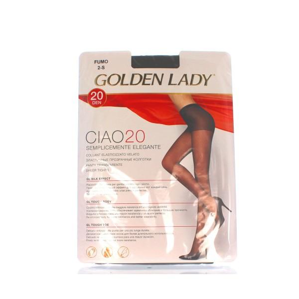 GOLDEN LADY CIAO COLLANT 20 DEN FUMO TAGLIA 2            , CALZE, COLLANT & GAMBALETTI, S018493, 8151