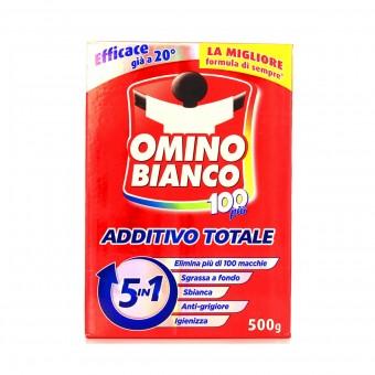 OMINO BIANCO ADDITIVO 100 PIU' 5 IN 1 500 GR
