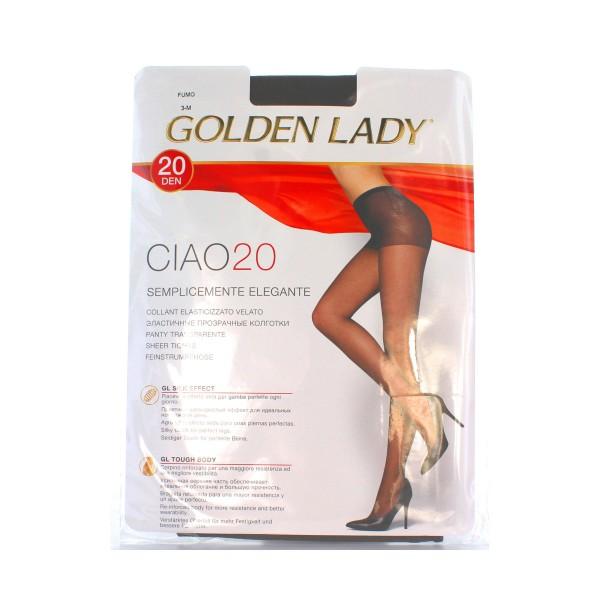 GOLDEN LADY CIAO COLLANT 20 DEN FUMO TAGLIA 3            , CALZE, COLLANT & GAMBALETTI, S018494, 8205
