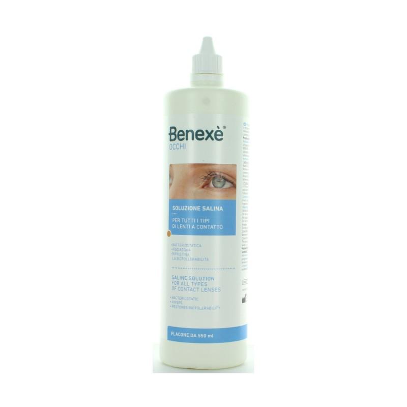 BENEXE' SOLUZIONE SALINA PER LENTI 550 ML