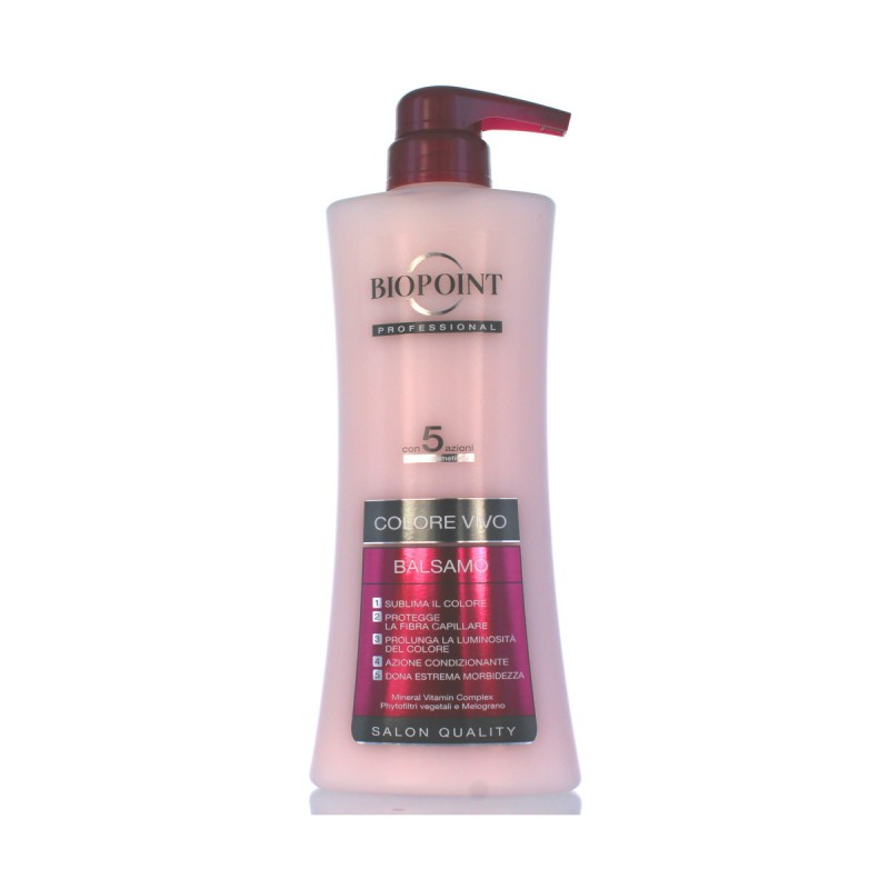 BIOPOINT PROFESSIONAL COLORE VIVO BALSAMO CAPELLI COLORATI CON MECHES 400 ML.