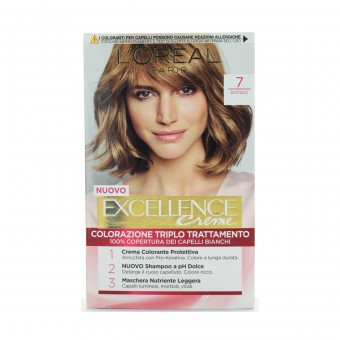 EXCELLENCE CREME COLOR 7 BIONDO