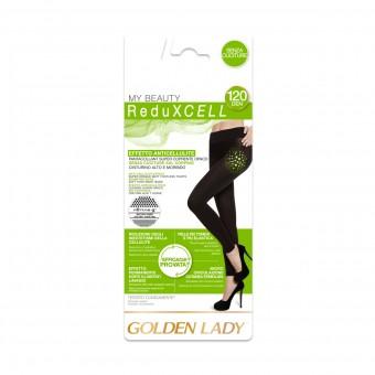 GOLDEN LADY REDUXCELL PANTACOLLANT 120 DEN NERO TAGLIA 4/L