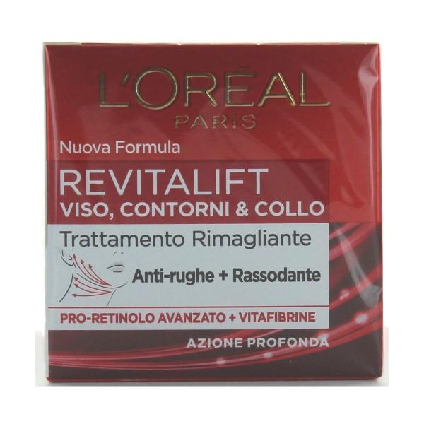 L'OREAL REVITALIFT VISO-COLLO 50 ML. , CURA VISO DONNA, S073460, 83291