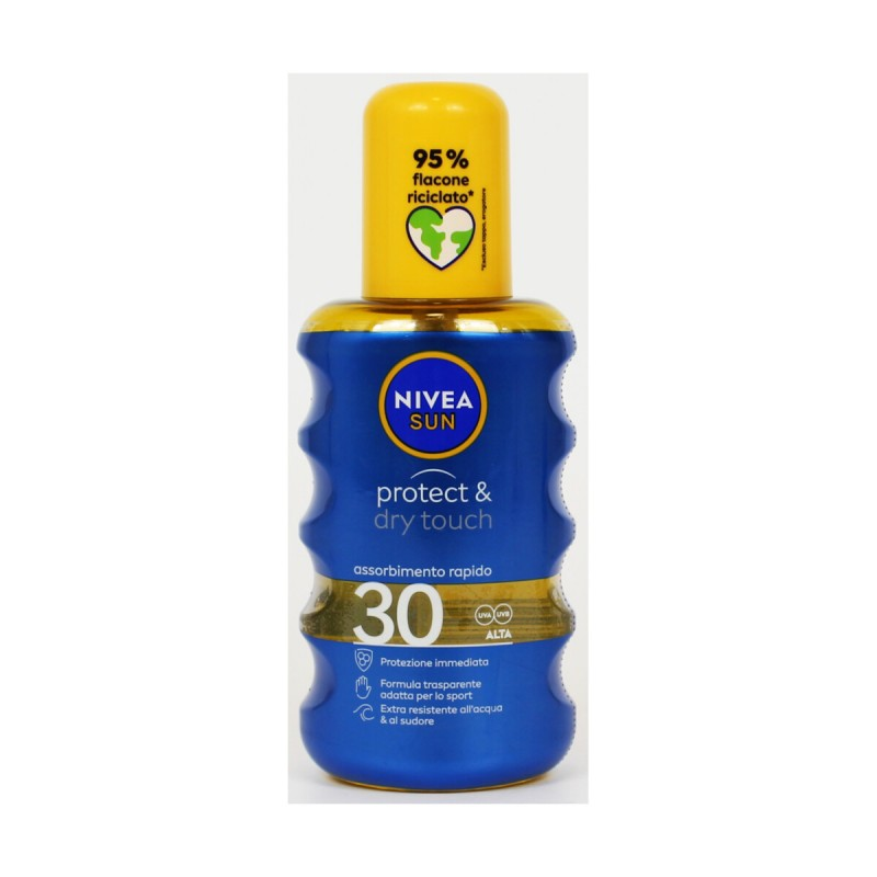 NIVEA SOLARE SPRAY PROCTECT & DRY TOUCH SPF30 200 ML
