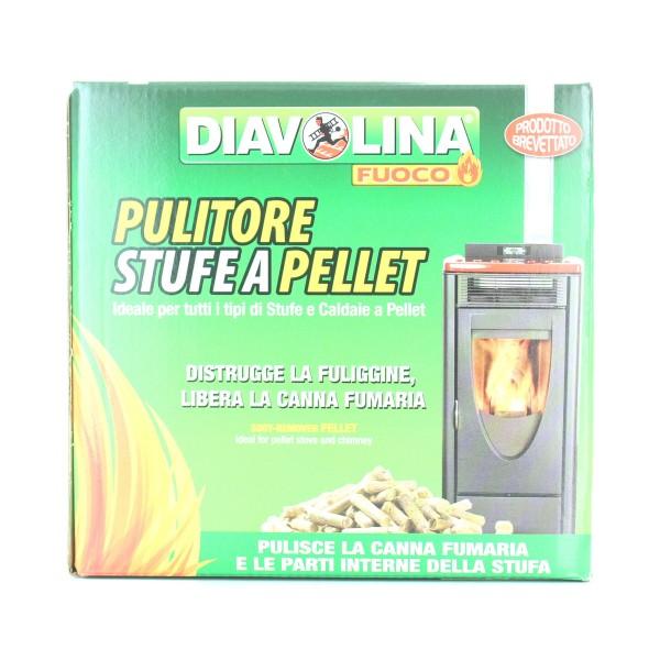DIAVOLINA PULITORE STUFE A PELLET, PULITORI FORNI/CAMINI/STUFE E ALTRI ELETTRODOMESTICI, S114139, 83350