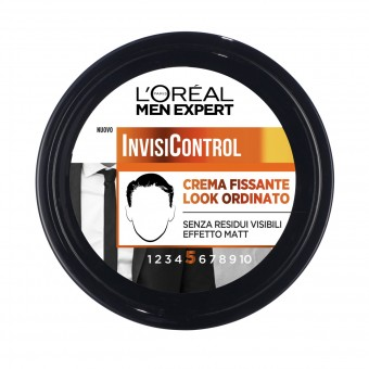 L'OREAL MEN EXPERT 5 INVISI' CONTROL CREMA CAPELLI FISSANTE VASO 150 ML