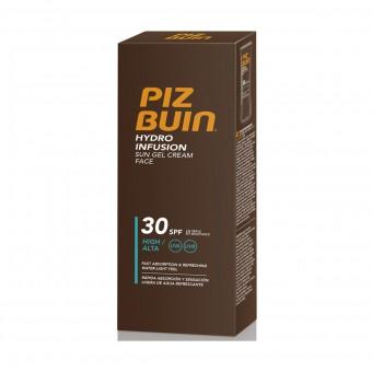 PIZ BUIN SOLARE HYDRO INFUSION GEL CREAM FACE SPF30 50 ML