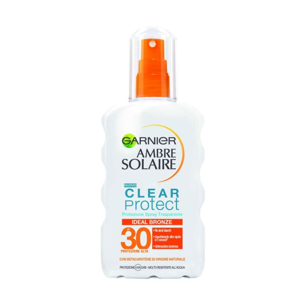 AMBRE SOLAIRE CLEAR PROTECT SPRAY IDEAL BRONZE IP30 200 ML, SOLARI, S158885, 84066