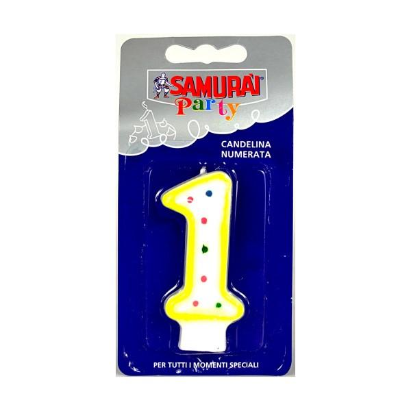 SAMURAI PARTY CANDELA COMPONIBILE N.1, ACCESSORI TAVOLA USA E GETTA, S044155, 84144