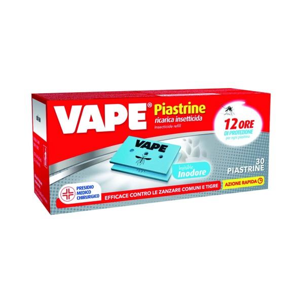 VAPE RICARICA PIASTRINE INODORE 30 PZ, INSETTICIDI VOLANTI, S158945, 84202