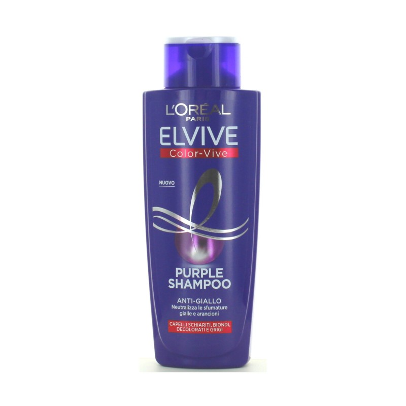 ELVIVE SHAMPOO COLOR-VIVE PURPLE ANTI-GIALLO 200 ML