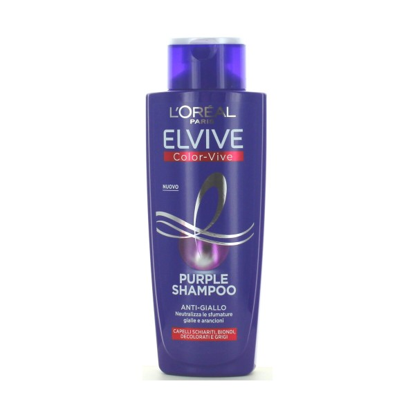 ELVIVE SHAMPOO COLOR-VIVE PURPLE ANTI-GIALLO 200 ML  , SHAMPOO, S159021, 84537