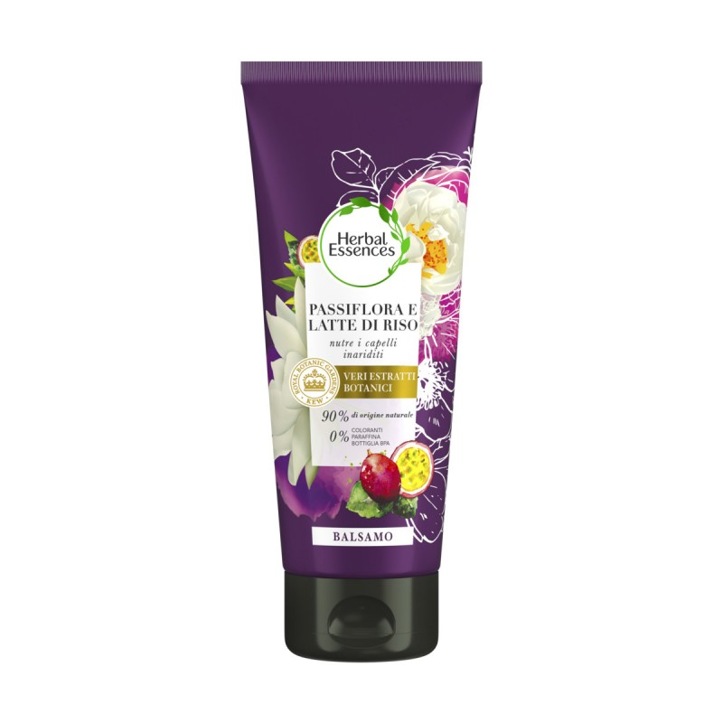 HERBAL ESSENCES BALSAMO PASSIFLORA e LATTE DI RISO 200 ML