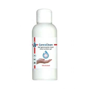 CARE & CLEAN GEL IGIENIZZANTE MANI CON 75% DI ALCOOL 100 ML