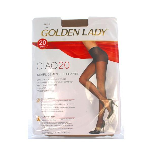 GOLDEN LADY CIAO COLLANT 20 DEN MELON TAGLIA 3           , CALZE, COLLANT & GAMBALETTI, S018516, 8467