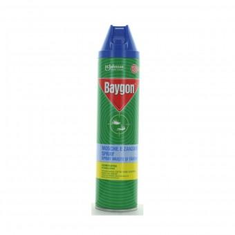 BAYGON BLU PLUS INSETTICIDA SPRAY MOSCHE E ZANZARE 400 ML