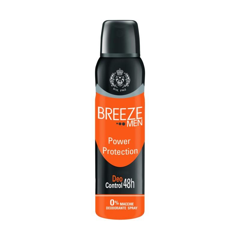BREEZE DEODORANTE SPRAY MEN 48h POWER PROTECTION 125 ML