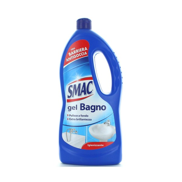 SMAC GEL BAGNO 900ml, SGRASSATORI/PICCOLE SUPERFICI, S044816, 84926