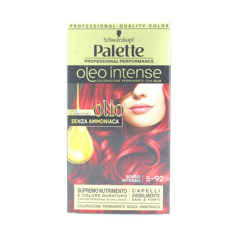 PALETTE OLEO INTENSE SENZA AMMONIACA N.5-92 ROSSO INTENSO