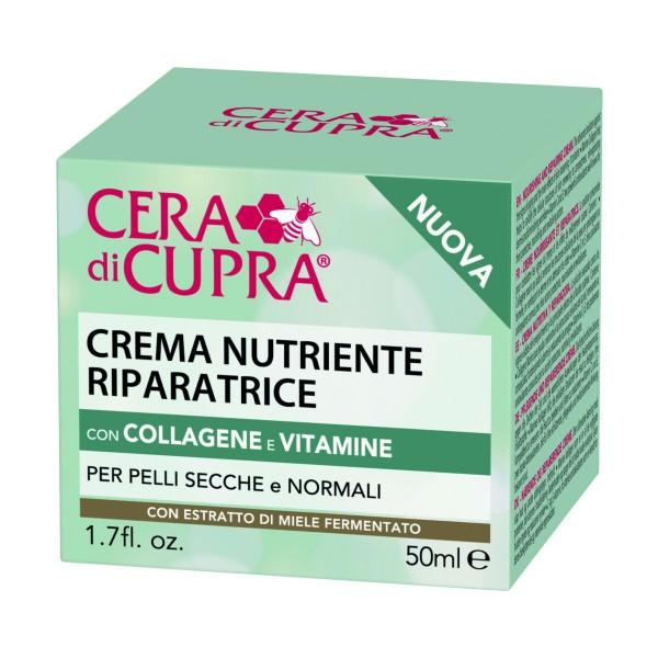 CERAdiCUPRA COLLAGENE & VITAMINE CREMA NUTRIENTE RIPARATRICE 50 ML, CURA VISO DONNA, S159527, 85072