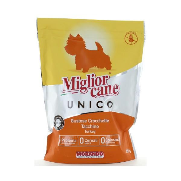 MIGLIOR CANE UNICO CROCCHETTE CON TACCHINO PER CANI DI PICCOLA TAGLIA BUSTA CON ZIP 800 Grammi, NUTRIZIONE, S151419, 85134