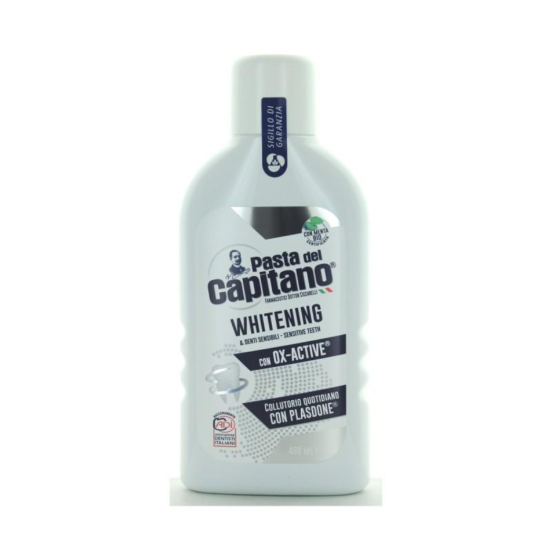 PASTA DEL CAPITANO COLLUTORIO WHITENING E DENTI SENSIBILI OX-ACTIVE 400 ML