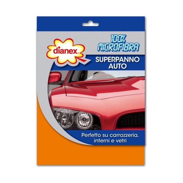 DIANEX SUPERPANNO AUTO 100% MICROFIBRA  , CURA E DETERGENZA AUTO, S159649, 85311