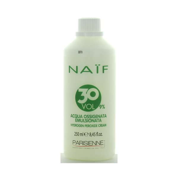 NAIF ACQUA OSSIGENATA EMULSIONATA 30 VOLUMI 250 ML , COLORANTI, S141665, 85438