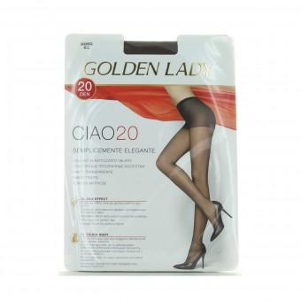 GOLDEN LADY CIAO COLLANT 20 DEN 36O MORO TAGLIA 4
