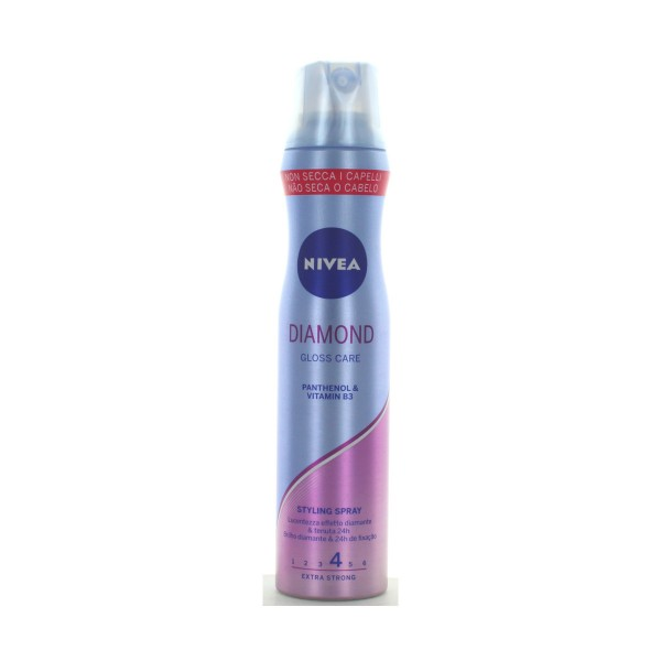 NIVEA STYLING SPRAY DIAMOND GLOSS 250 ML. , FISSATIVI, S045283, 85566