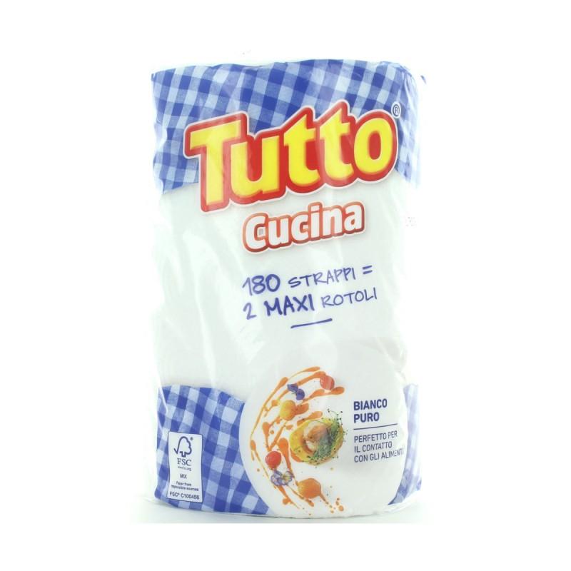 TUTTO CUCINA 1 ROTOLO 180 STRAPPI 2 VELI