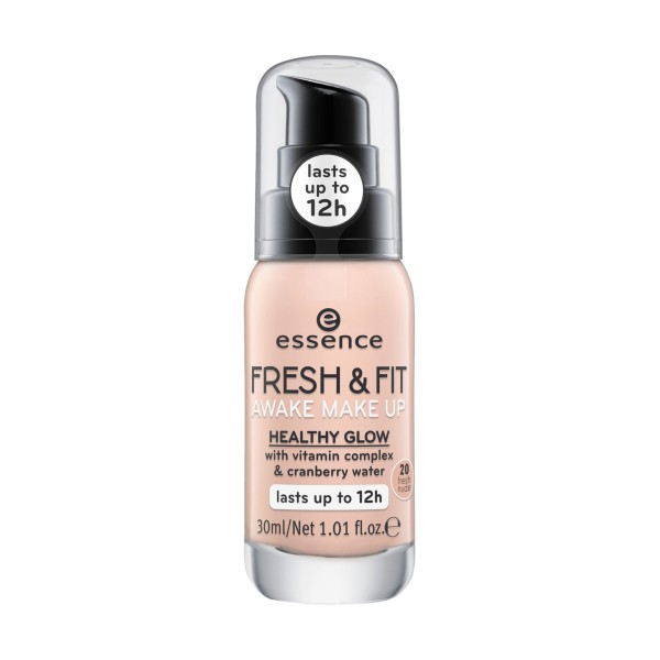ESSENCE FONDOTINTA FRESH & FIT EFFETTO RADIOSO 20, VISO, S144139, 86385