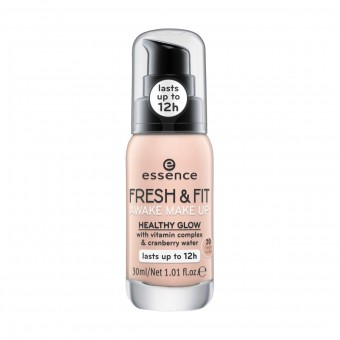 ESSENCE FONDOTINTA FRESH & FIT EFFETTO RADIOSO 20