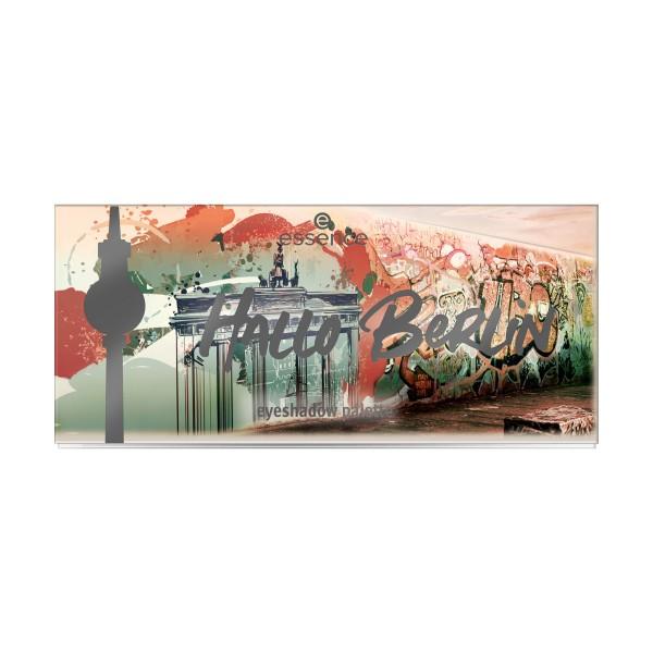 ESSENCE OMBRETTO PALETTE HALLO BERLIN 10, OCCHI, S158316, 86450